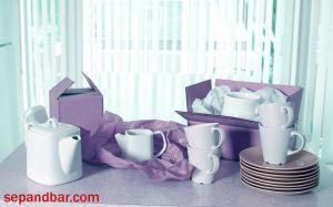 بسته بندی ظروف آشپرخانه در اسباب کشی