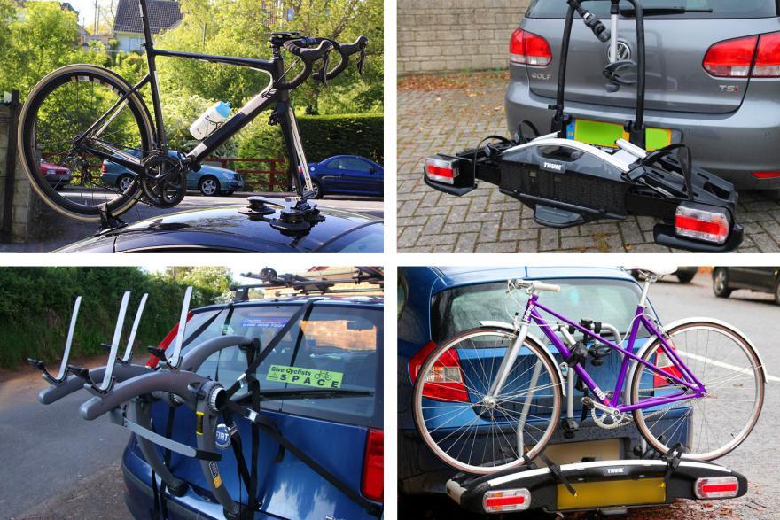 نحوه حمل دوچرخه با ماشین
