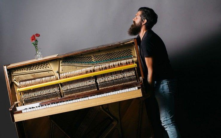 نحوه جابجایی پیانو