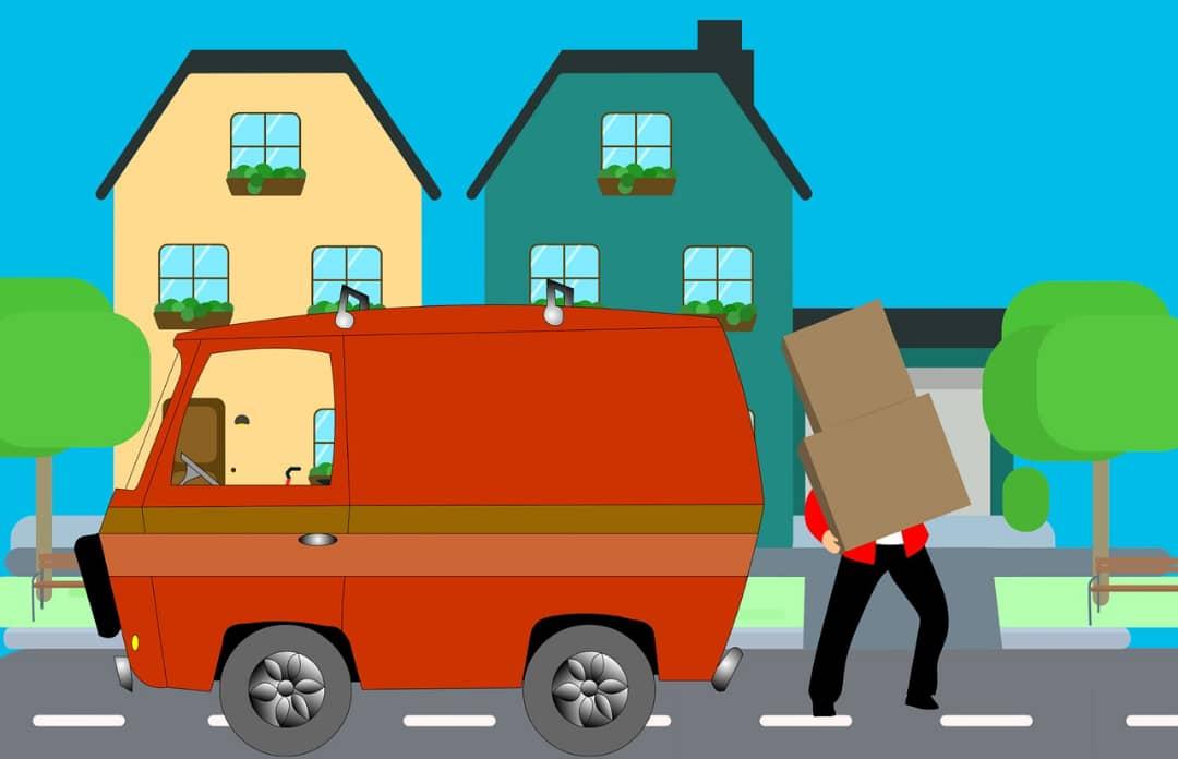 حمل و نقل وسایل منزل