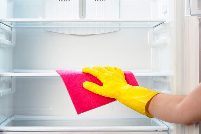 تمیز کردن یخچال و فریزر