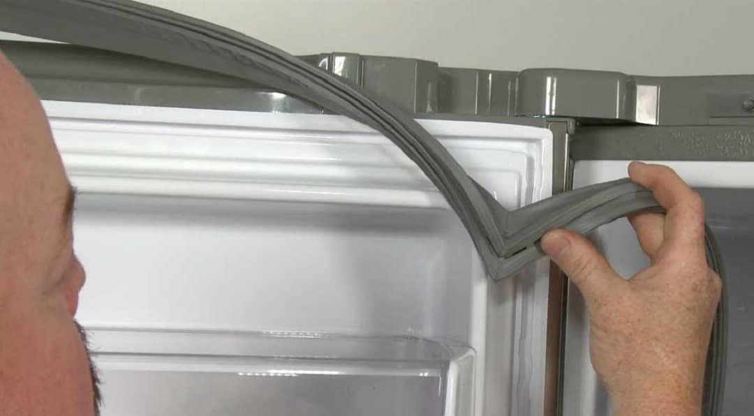 تمیز کردن واشر یخچال