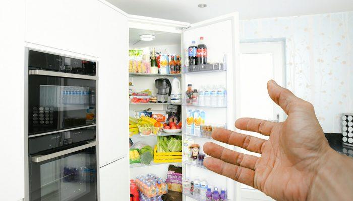 آموزش باز و بسته کردن درب یخچال ساید