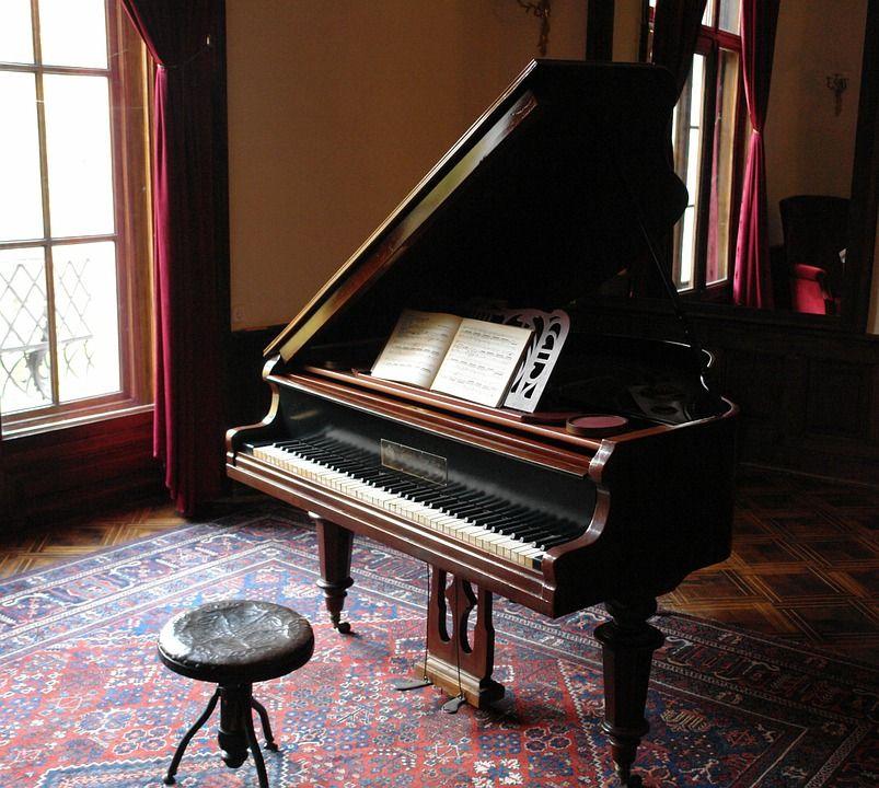 مراحل حمل پیانو