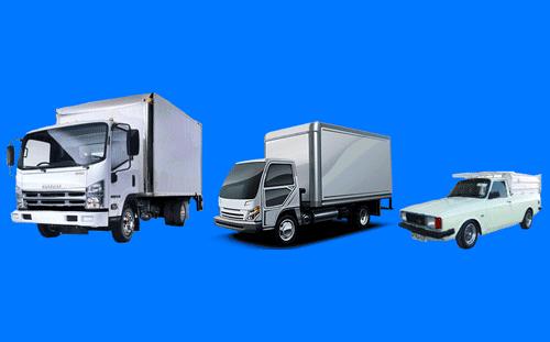 انتخاب ماشین باربری با توجه به حجم وسایل