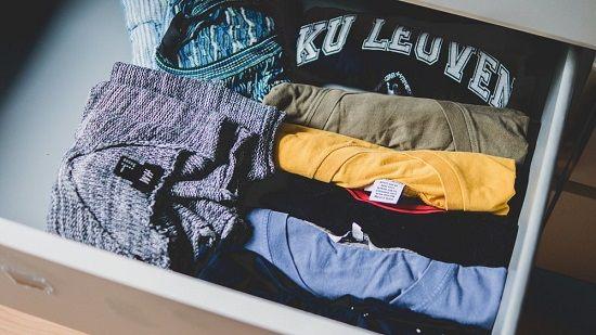 لباس ها را به ترتیب اولویت بسته بندی