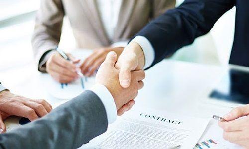 ارائه قرارداد کتبی