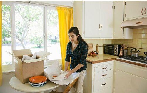 براب بسته بندی وسایل آشپزخانه خود بیشتر وقت بگذارید.