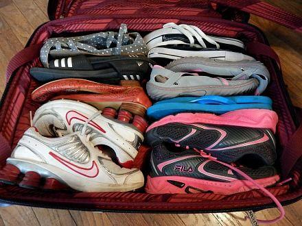 بسته بندی مناسب کفش ها در اسباب کشی