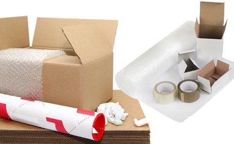 تجهیزات بسته بندی را از قبل تهیه کنید.