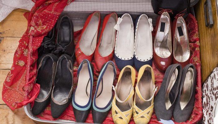 نکات مهم مربوط به بسته بندی مناسب کفش ها هنگام اسباب کشی