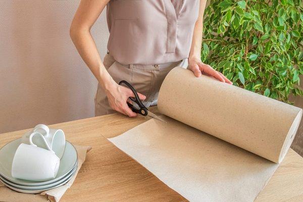 ورق کاغذ بسته بندی